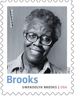 tayarijones:  Gwendolyn Brooks on a United States postage stamp.  Mercy.  I am going to buy a thousand and use them forever.