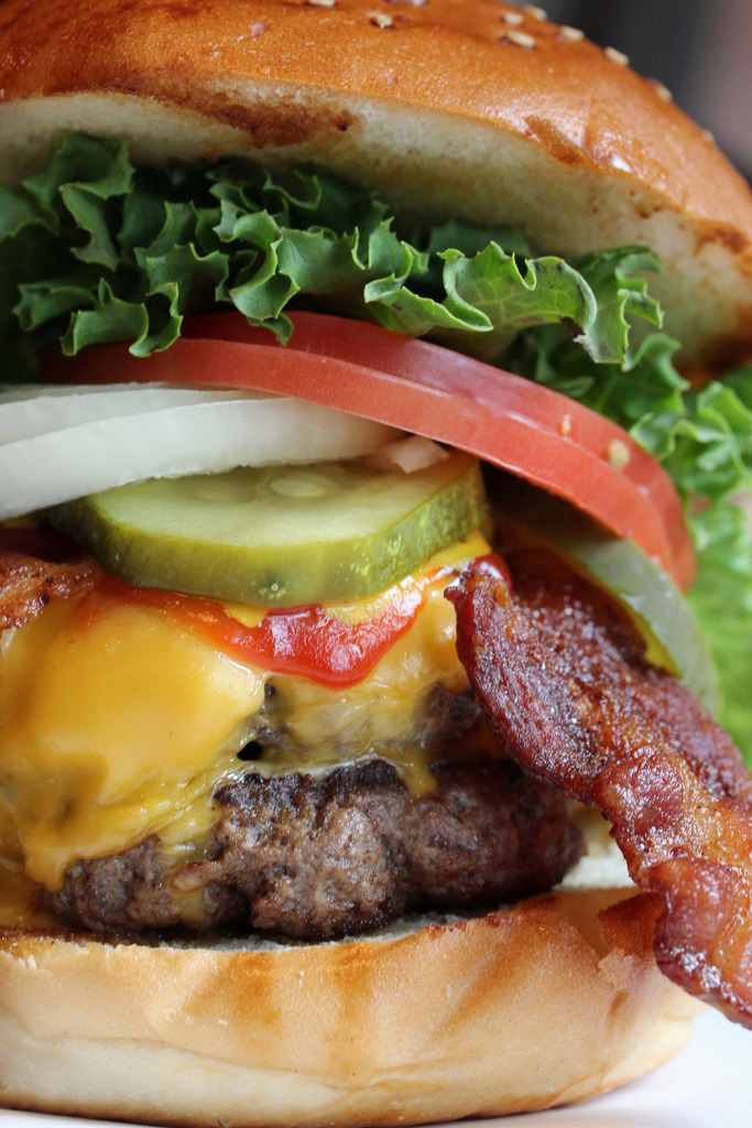 fridgebook:  Double Bacon Cheeseburger