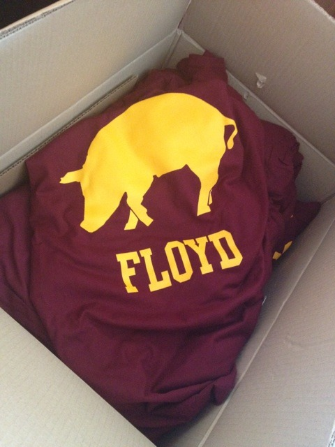 Floyd is here.  Buy one at Empty Bandwagon. [Empty Bandwagon]