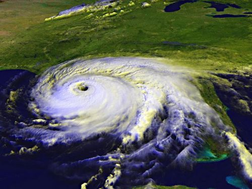 Project Stormfury was an organization that tried to control hurricanes by seeding them with silver iodide, which would cool the hurricanes. However, the project had little success, and was abandoned. The Chinese are now looking into similar technology to transform the Gobi Desert into an agriculturally productive area.