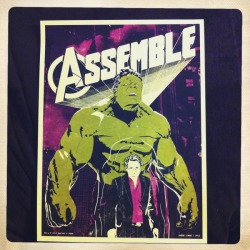 timetravelandrocketpoweredapes:  Assemble! by Jason Liwag