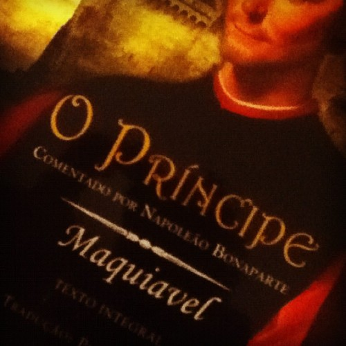 #theprince #machiavelli commentaries by #napoleon.  (Publicado com o Instagram)