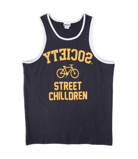 Society Original Products Team Player Tank Top in Navy