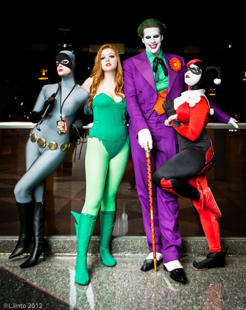 C2E2 Gotham City-2 by LJinto on Flickr.Awesome Batman: TAS characters group cosplay shot.
