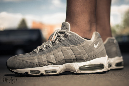 "Nike Air Max 95 ""99 Grey suede"" on Flickr."
