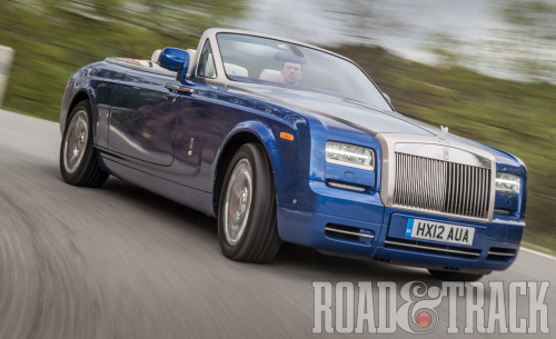 The new 2013 Rolls-Royce Phantom Series II offers effortless serenity on wheels. (Source: Road & Track)