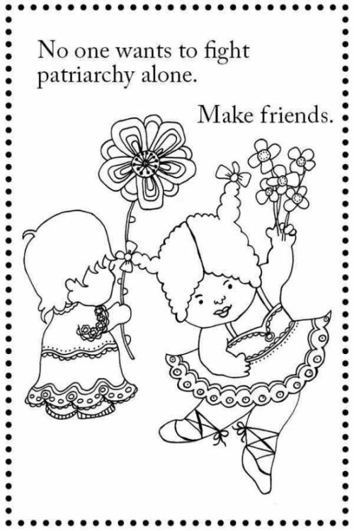 staceyjeanmachine:  This is actually from an awesome coloring book (for kids and adults of all ages!) that you can buy here. :)
