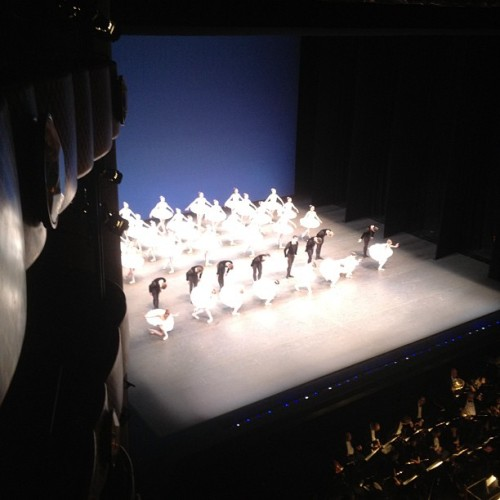 officialstyledotcom:  Symphony in C curtain call at @nycballet gala. JM (Taken with instagram)