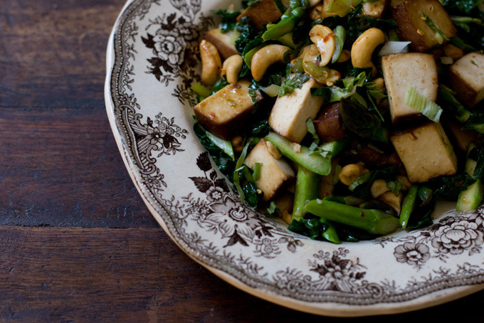 asparagus stir fry from 101 cookbooks