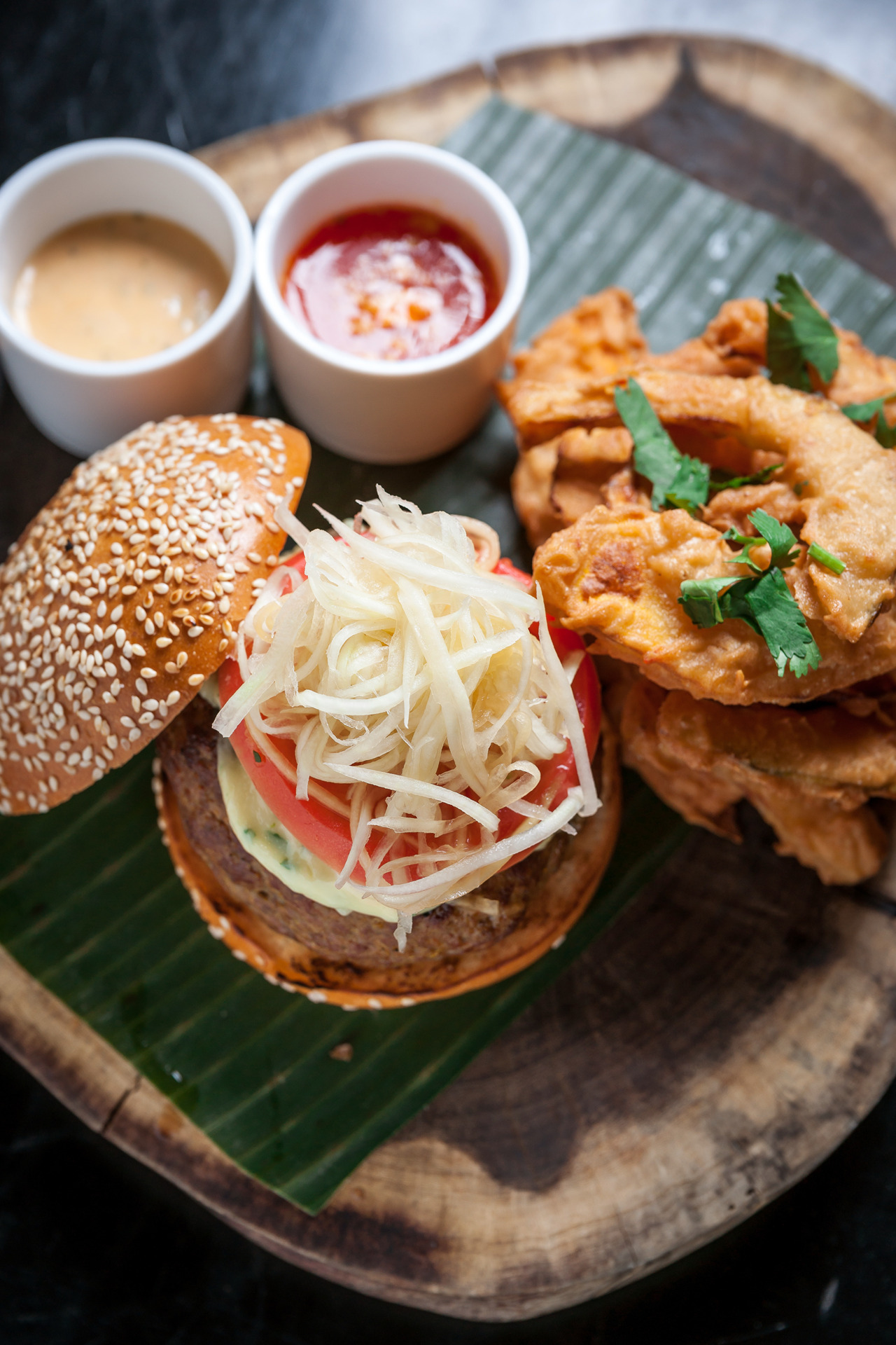 The Thai Burger at Hong Thaimee's NGAM is quite possibly one of the most interesting things i've ever had to eat in my whole little life… Therefore you have only two courses of action: 1) If you live in NYC - go there for dinner POST HASTE!  2) if you live elsewhere - the link above has the WHOLE RECIPE! Special Thanks: Hong Thaimee, Linnea Covington & Rachel Walensky