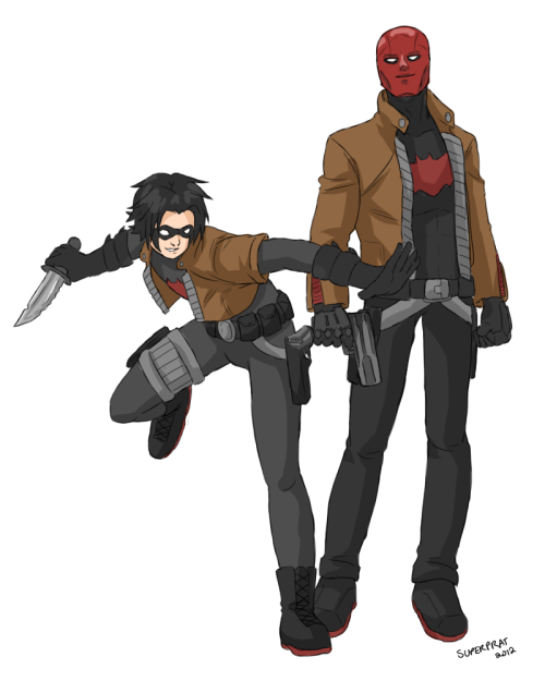 princessmelina:  Red Hood and Hoodlum by ~Xinjay Hehe, Hoodlum. 8D