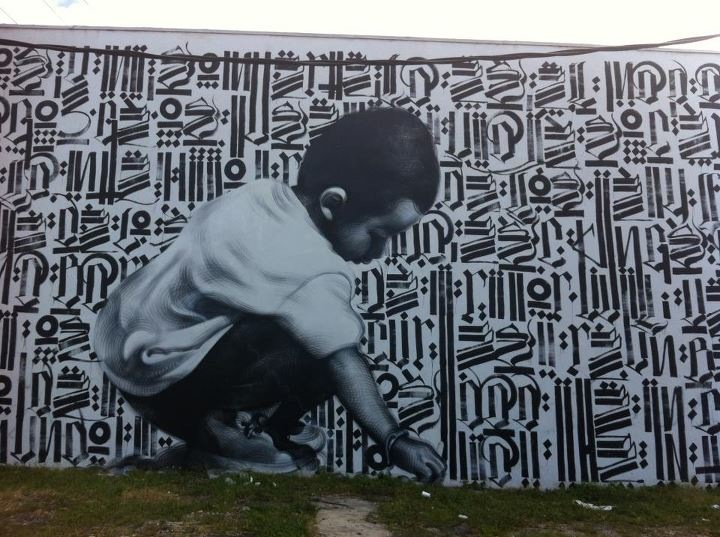 newspeak712:  Note: I took this photo myself. Mac and Retna mural.