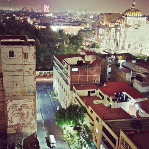 #vhils #mexicocity @allcitycanvas (Taken with instagram)