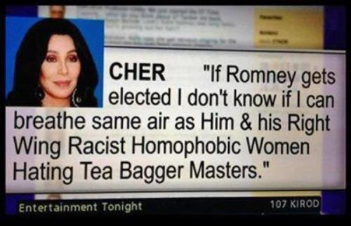 Cher: mastery of subtlety.