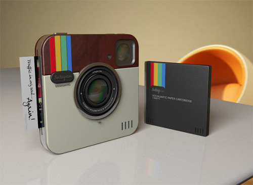 burnworks:  Instagram Socialmatic Camera | Concept | Gear