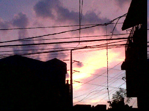 Purple-Orange Sky.