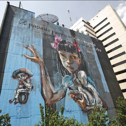#herakut #mexicocity @allcitycanvas (Taken with instagram)