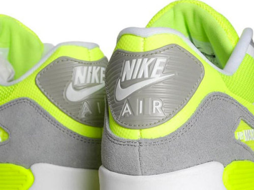 Nike Air Max 90 Hyperfuse Premium - Volt bright look coming from NSW for this summer.  White suede uppers with Volt accents in hyperfuse and some Grey suede paneling.  definitely got a tennis feel with the bright Volt.  click here for more pics Related articles Nike Air Max 90 Hyperfuse Premium 'Suede Pack' - New Images (sneakernews.com)