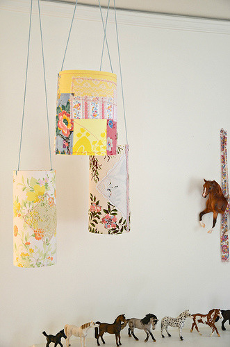 (via Lola Nova - Whatever Lola Wants: Pretty Patchy Paper Lanterns)