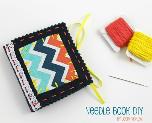 Felt & Fabric Needlebook Tutorial on Stitch Craft Create Blog