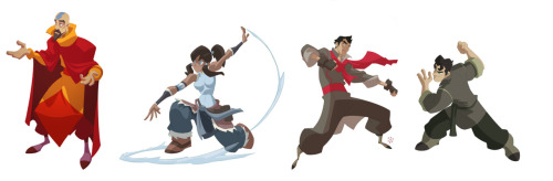 This is so freaking awesome! (Korra update! by cheeks-74) You will also like: be the leaf.And this one is really impressive.