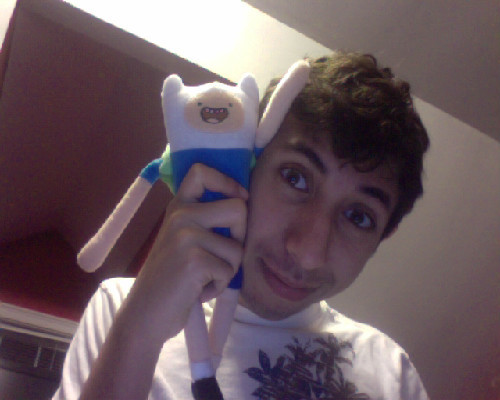 I have a vlog currently processing, but look at the awesome Finn Plush I got at Wal-Mart today. So algebraic.