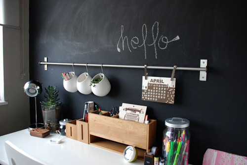 white-t-ea:  may-er:  i love the rack with the pot plants and pencil holders hanging off of it! so cute  i always follow back if i like your blog! http://white-t-ea.tumblr.com/