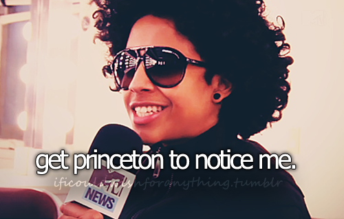 If I could wish for anything… I would wish to have Princeton from Mindless Behavior notice me.