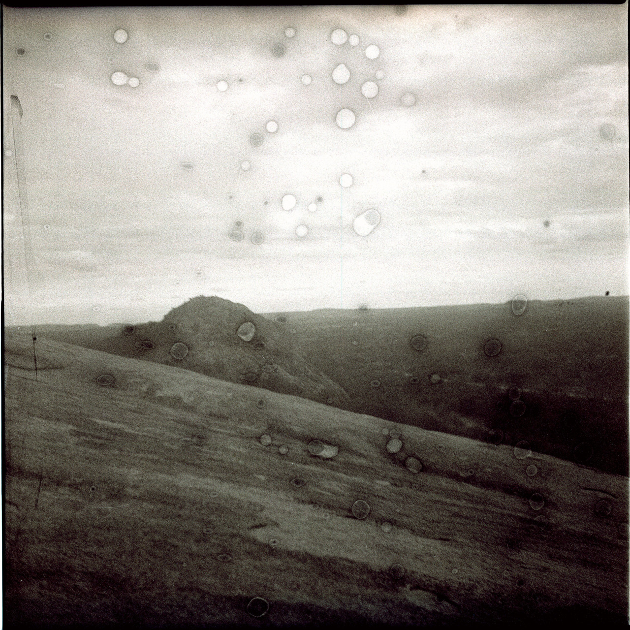 Enchanted Rock, title undecided by Tiffany R. DeJesus Medium Format; 120mm, Rolleicord II