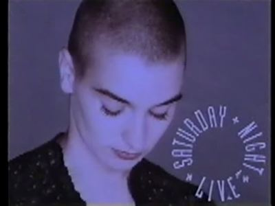 Sinead O'Connor, 1990.