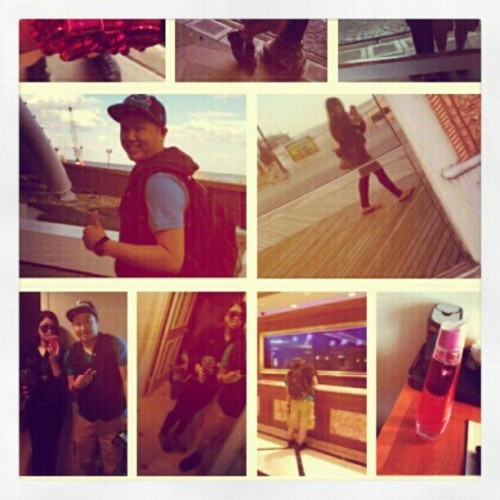 #boardwalk #revel #mirror #nuvo #backpack #thumbsup @shaunc22 (Taken with instagram)