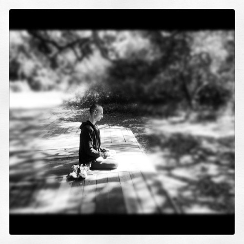 Homie was getting his zen on.#liveanddieinla#losangeles#instagram#iphoneography#iphonesia#photooftheday#instagood#jj#ig#igers#love#photo#hike#temescalcanyon  (Taken with Instagram at Temescal Canyon)