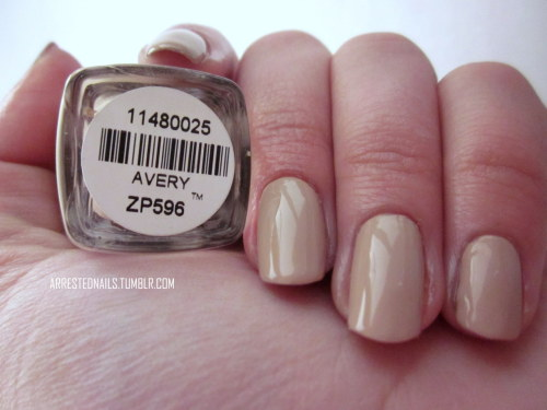 "Zoya ""Avery"" swatch."
