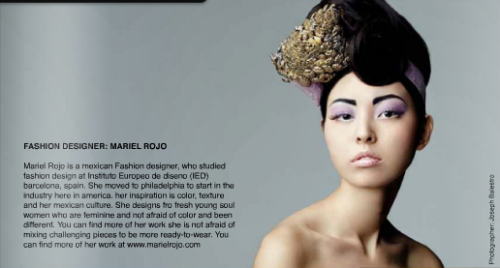 Read about Fashion Designer: Mariel Rojo in Raine's Volume 11 issue out in your local Barnes and Noble everywhere! Or subscribe to us online to read our online blogs - absolutely effortless!