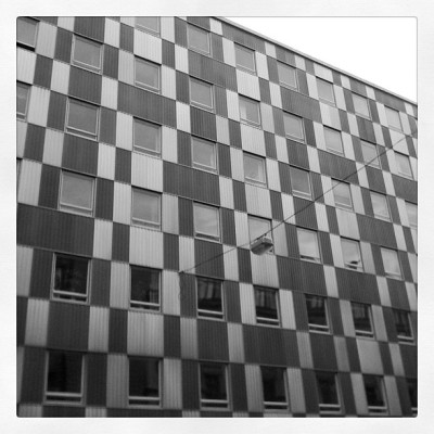 #stockholm #architecture #urban #pattern #gray (Taken with instagram)