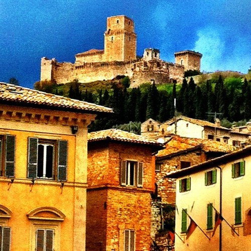 Assisi, Umbria captivates me, as does nearby Marmore's Falls, the world's tallest man-made waterfall!