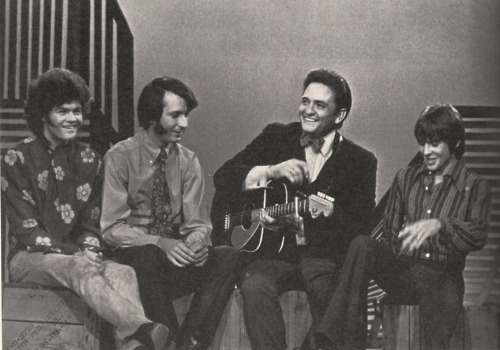 The Monkees and Johnny Cash - 1969
