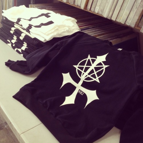 KVLT teaser! New sweaters hot off the press! \m/
