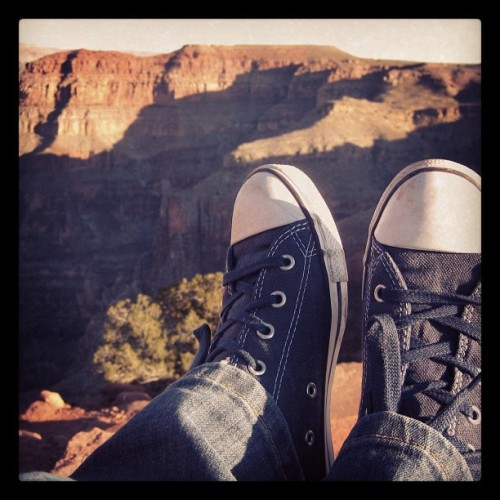 Instagram-ing the world, one city at a time: Cons at the Grand Canyon. Taken with instagram