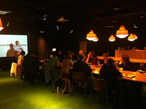 Another successful Grant Writing Workshop, this time in Amsterdam. So far, Grant Writing in Europe has been to Berlin, Amsterdam, Madrid and London. New location suggestions are always welcome.