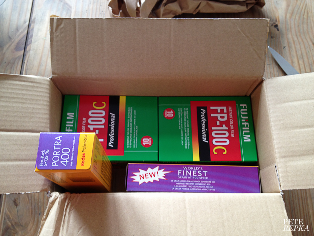 Just got a film delivery - whoop !!