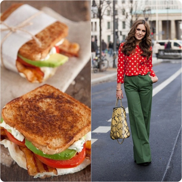 Egg & Avo Sandwich / GlamCanyon. Recipe in the blog. #food #fashion #foodandfashion (Taken with Instagram at http://ami.sptnkswthrt.com)