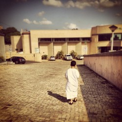 walking across the road to #Jummah #parenthood #iphone4s #Islam #durban #southafrica  (Taken with instagram)