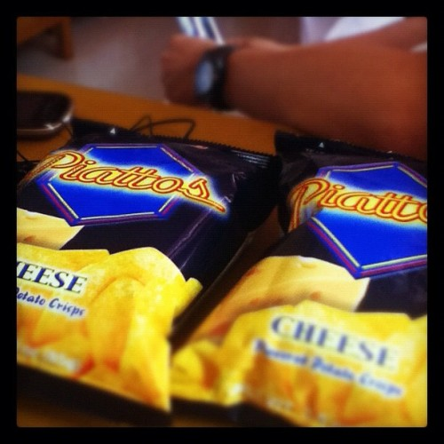 Nurse's afternoon delight #food #snack #piattos (Taken with instagram)