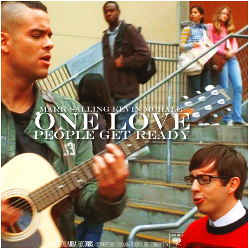 2x06 Never Been Kissed | One Love / People Get Ready Alternative Cover
