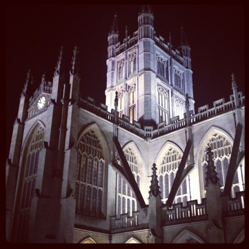 Bath Abbey #travel (Taken with instagram)