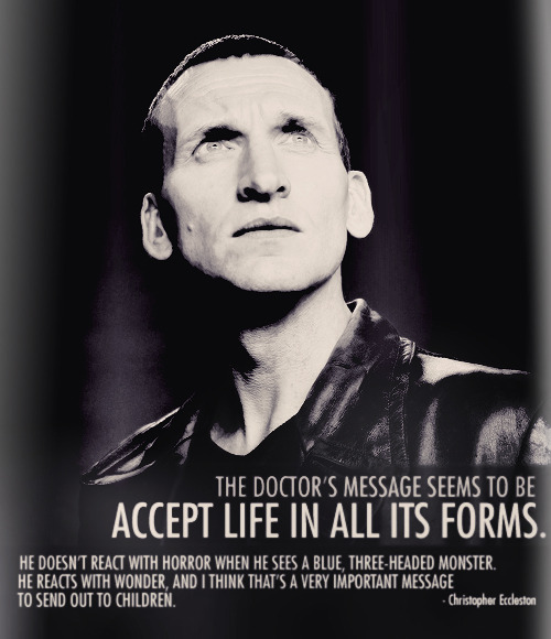 laughterkey:  Nine will always be my Doctor.