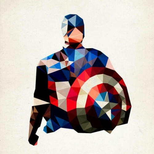 #Trippy #CaptainAmerica (Taken with instagram)