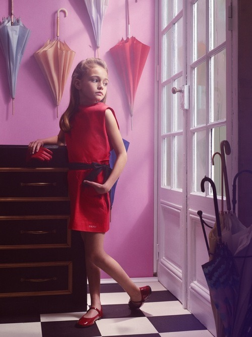 e-look:  Haute Design by Sarah Klassen In Vogue Enfants.