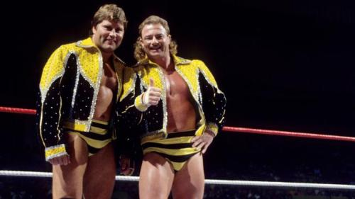 """Jumpin"" Jim Brunzell & B. Brian Blair, The Killer Bees"